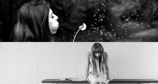 A depresszió vagy a boldogság